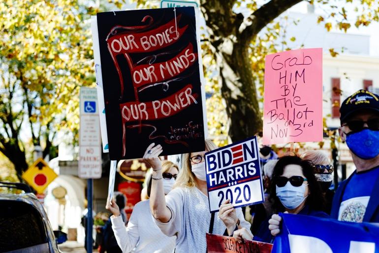 Doylestown Women's March-9